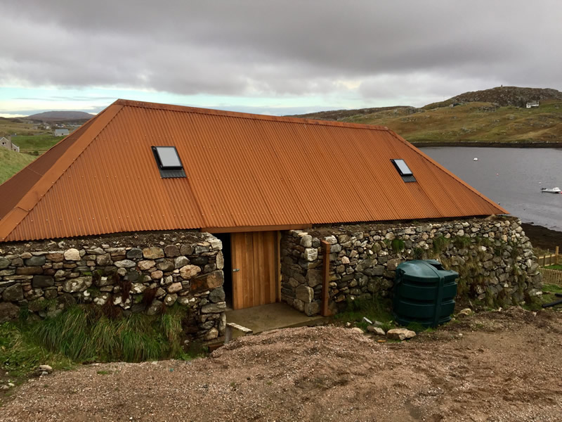 Delightful Our Most Recent Cor Ten Roofing Project Was For An Outbuilding On The Isle  Of Lewis. Created By J.G.B Steelcraft (UK) Limited From Our Clients  Detailed ...