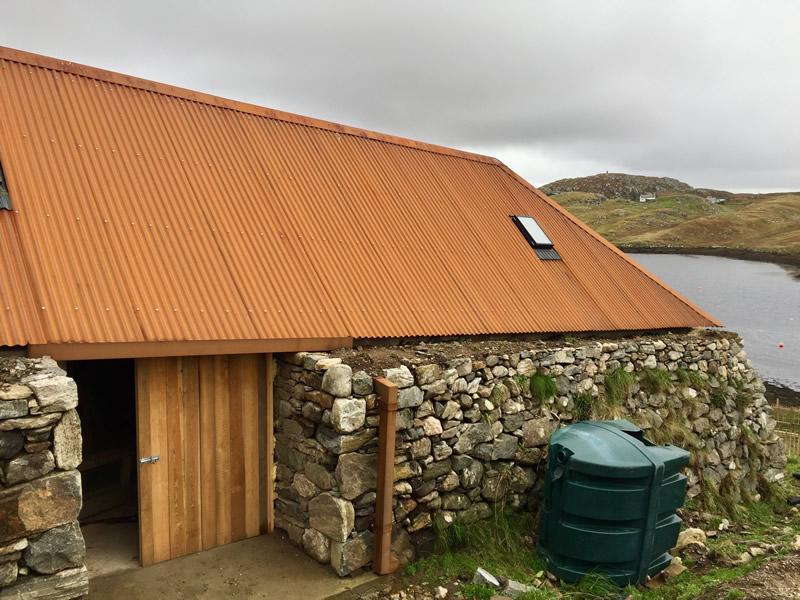 Corten Roof Amp Rusted Metal Roofing In Corten And Bare Steel